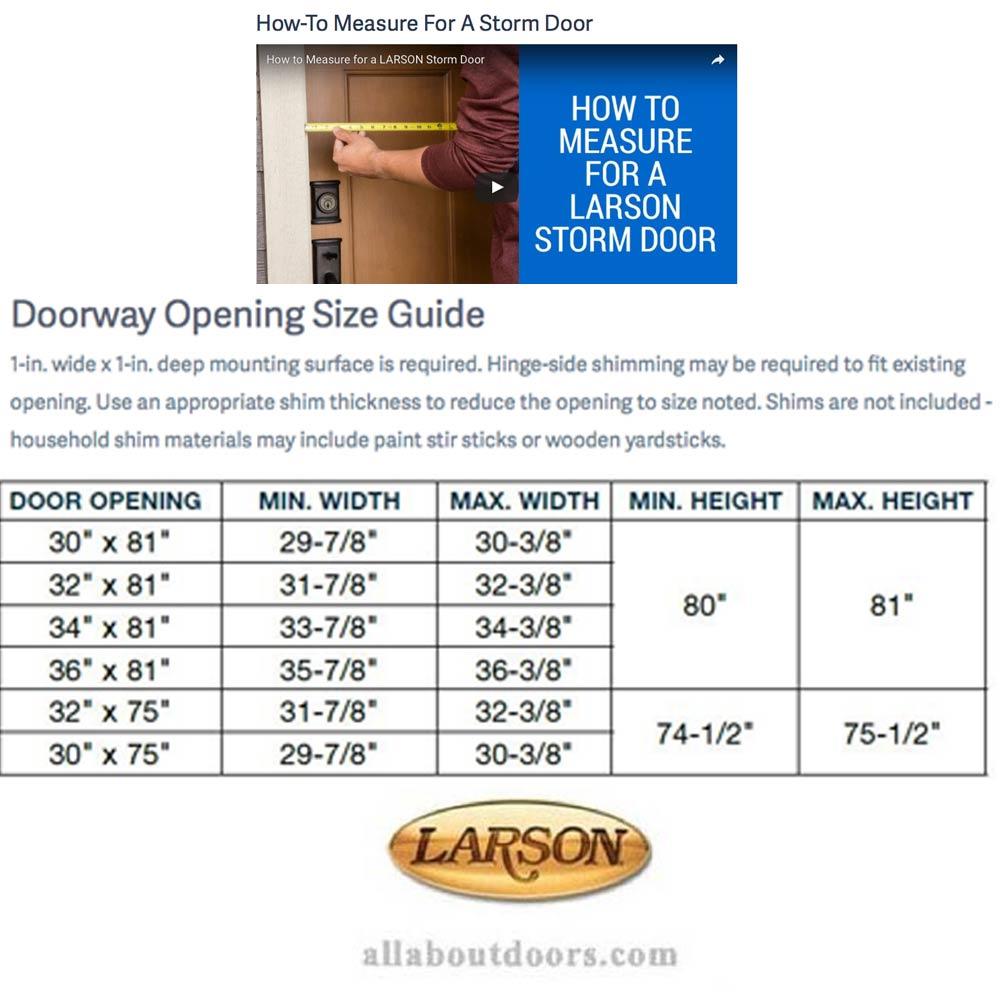 Clad, Self Storing, Traditional Storm Door