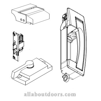 Marvin Gliding Window Locks and Latches