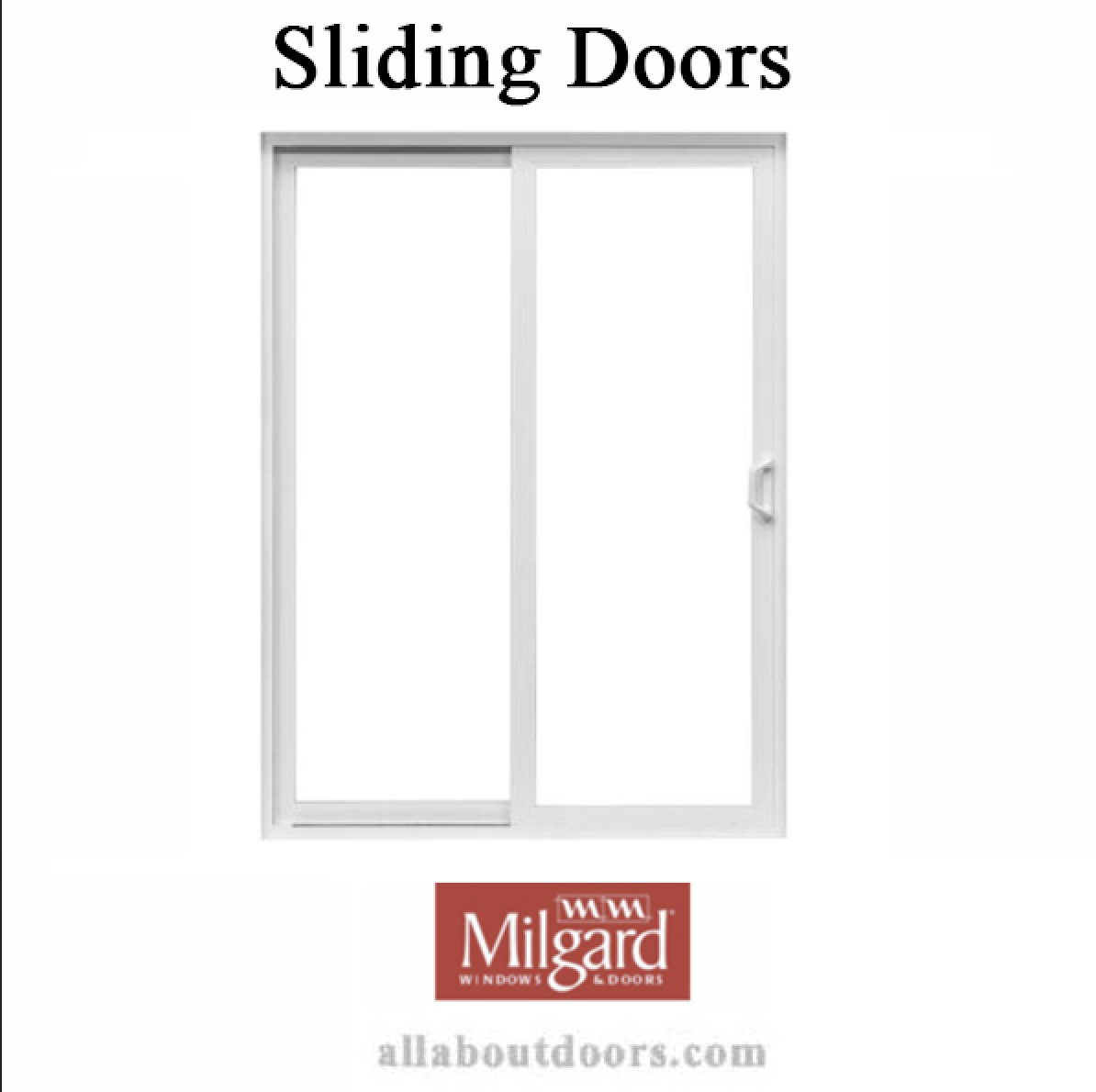 Milgard Sliding Door Hardware