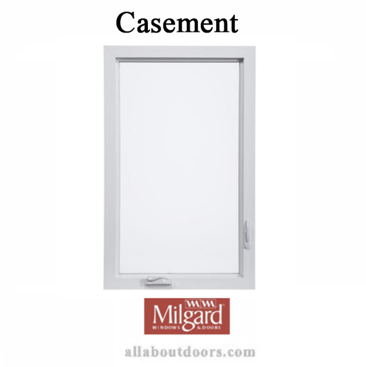 Milgard Casement Window Hardware