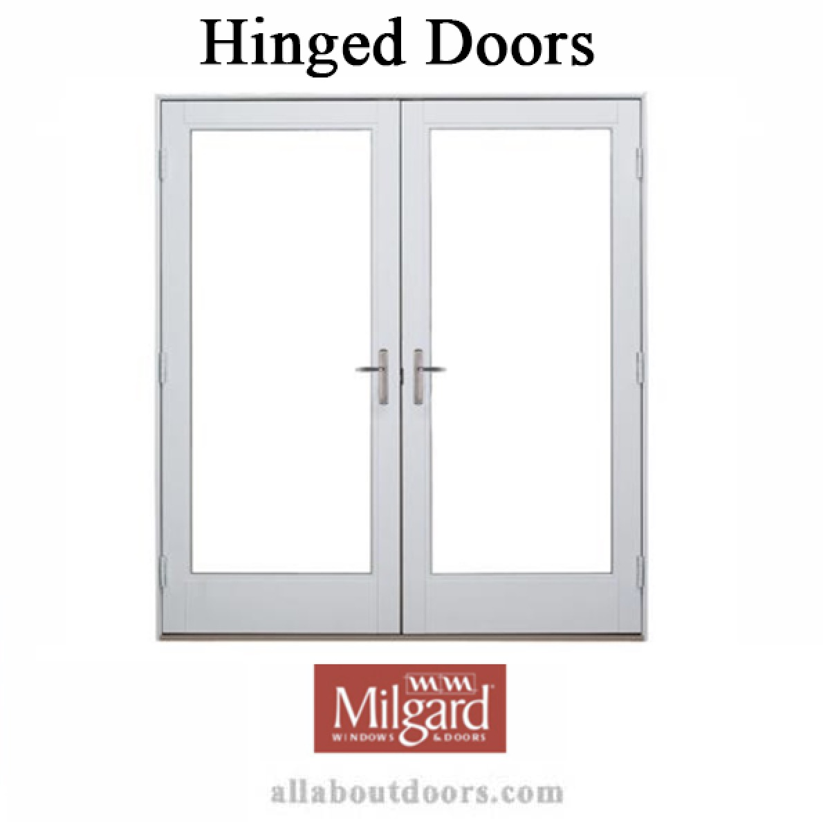 Milgard Hinged Door Hardware