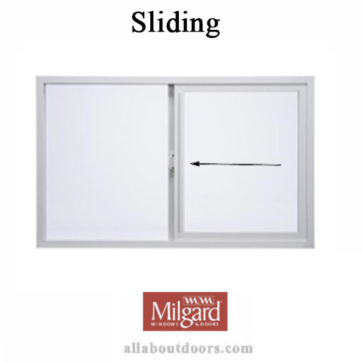 Milgard Sliding Window Hardware