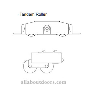 Weather Shield Sliding Glass Door Rollers