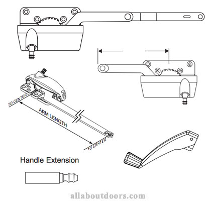 Weather Shield Casement Window Operators