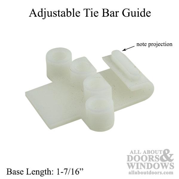 Guide Adjustable Tie Bar Casement White