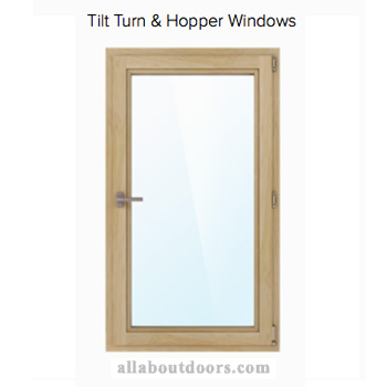 Marvin Tilt Turn, Hopper Window Parts & Hardware