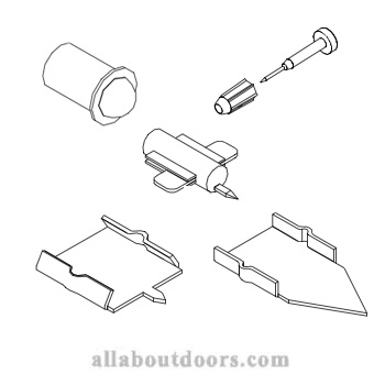 Marvin Grille Clips, Pins, Tacks and Window Grid Fasteners