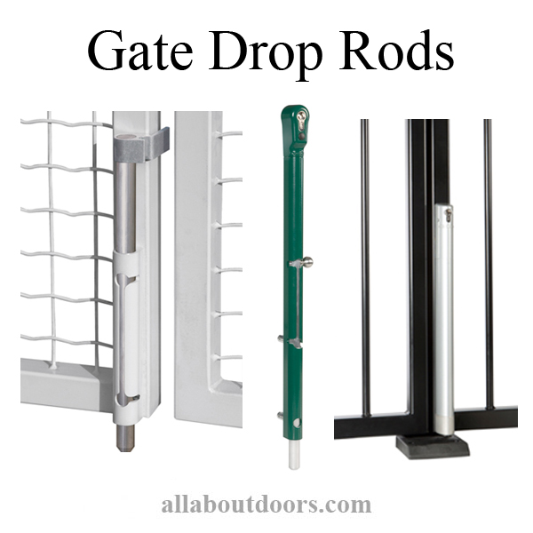 Gate Drop Rods
