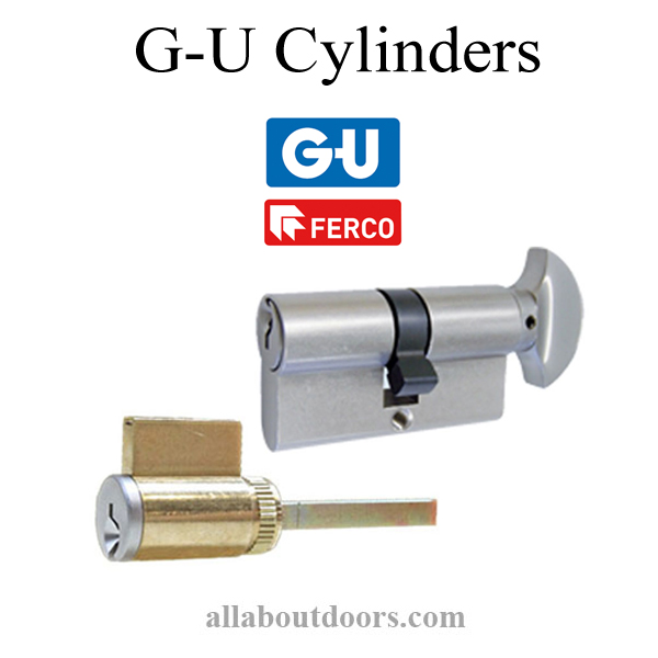 G-U Lock Cylinders & Tailpieces