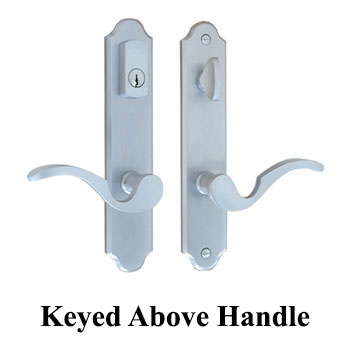 Active, Keyed Above Handle