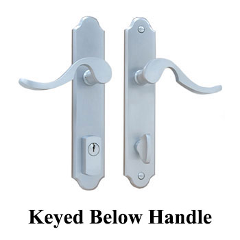 Active, Keyed Below Handle