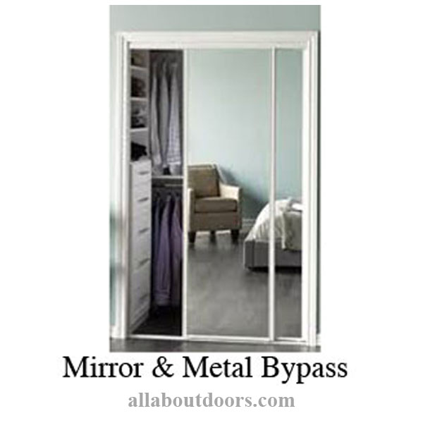 Metal Byp Door Hardware