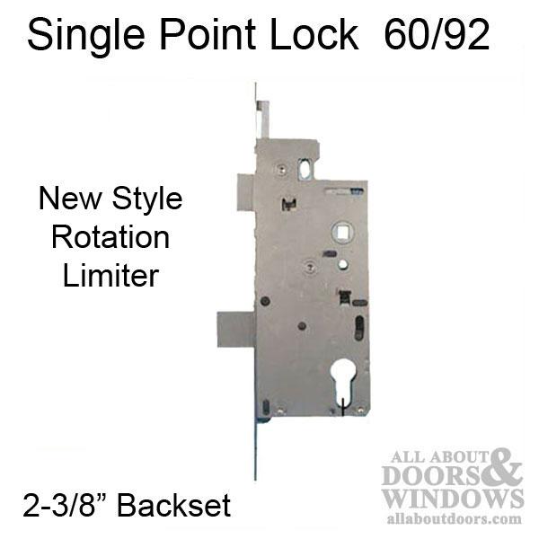 Hoppe Mortise Lock 1 Quot Deadbolt Throw 60 92 Single Point