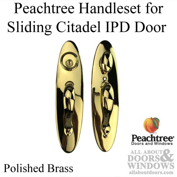 Citadel peachtree sliding door handle set polished bras ipd citadel peachtree sliding door handle set polished bras planetlyrics Choice Image