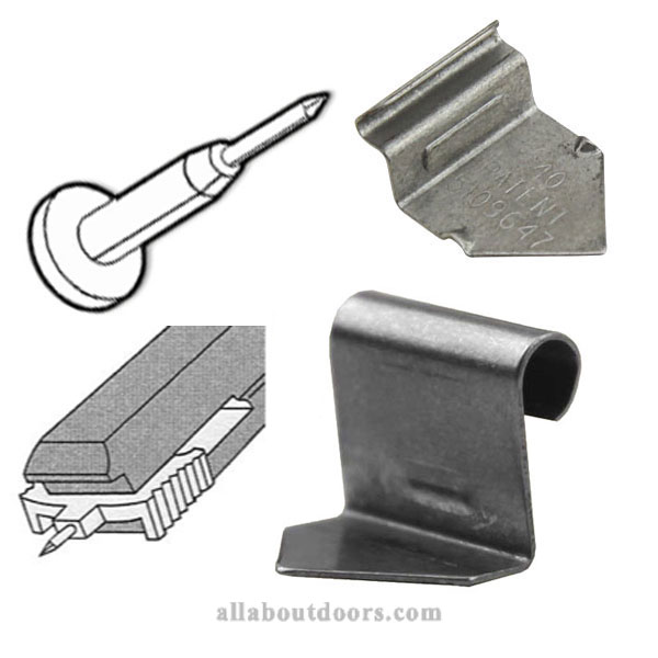 Door & Window Grille Clips
