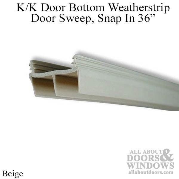 Video Replacing Door Sweeps Amp Bottoms