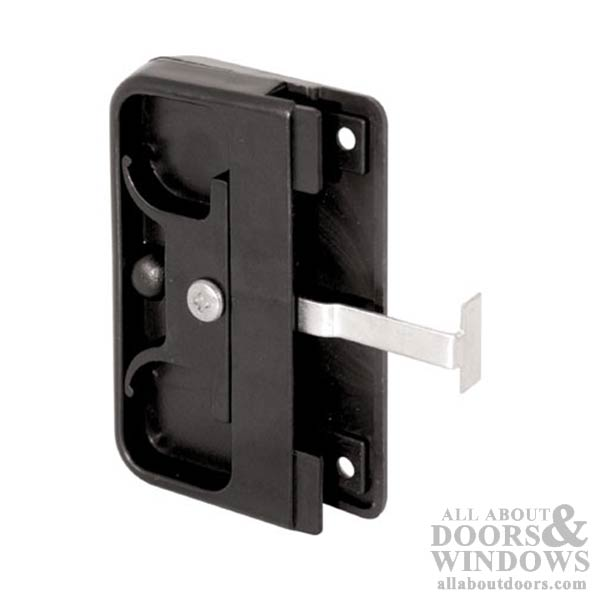 marvin sliding screen door latch and pull handle set black