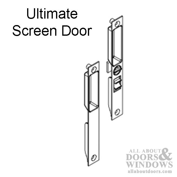 Marvin ultimate screen door handle interior exterior for Marvin ultimate swinging screen door
