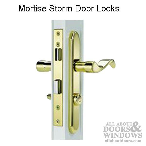 Storm Amp Security Door Hardware Amp Parts All About Doors
