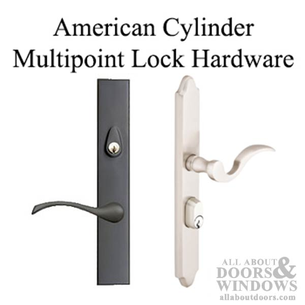 American Cylinder Multipoint Lock Hardware