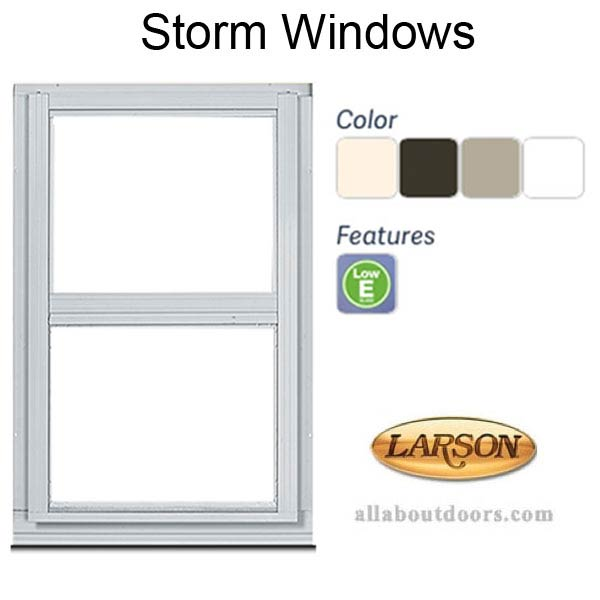 Larson Storm Windows