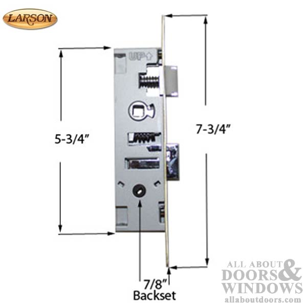 Larson Replacement Storm Door Kits With Trim And Mortise Lock