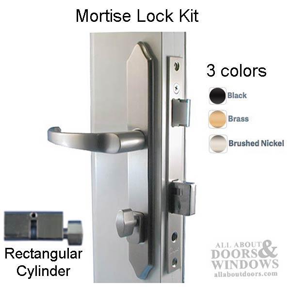 Mortise Lock And Handleset For Storm Doors Storm Door