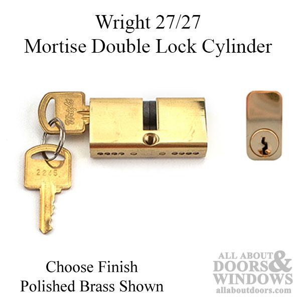 Mortise Lock Double Cylinder 27 27 Key Both Sides