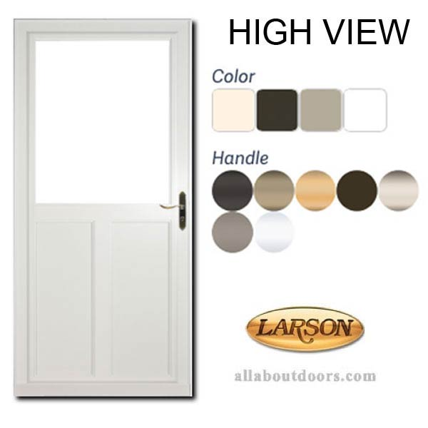 Larson High View Storm Doors