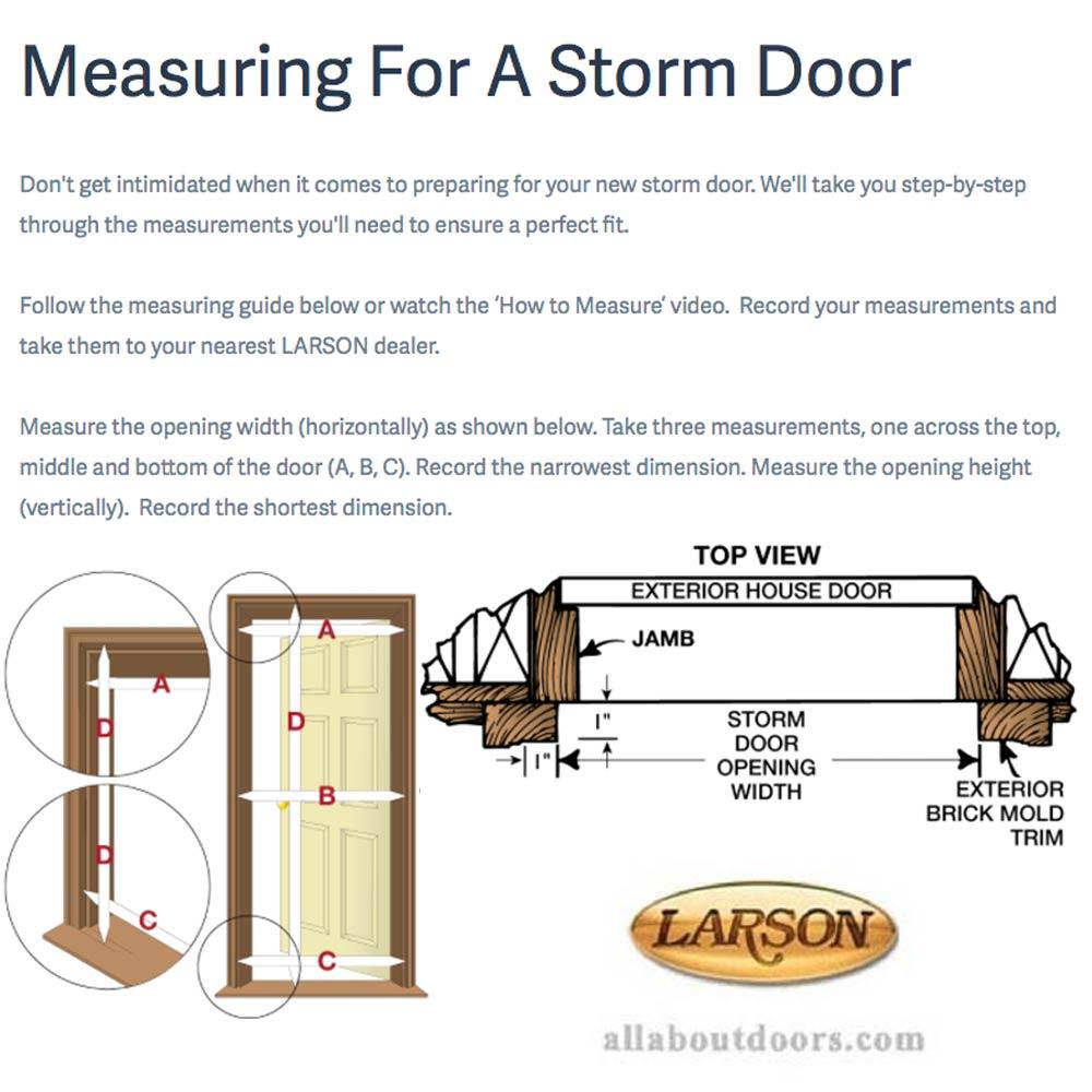 Larson Blinds Between The Glass Storm Door 400 17