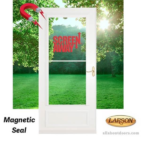 Larson Lifestyle Midview Screen Away Magnetic Weatherstrip