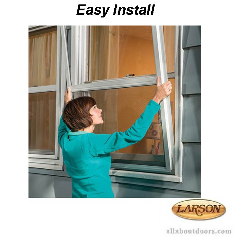 Larson Performance Double Hung 3 Track Storm Window Clear