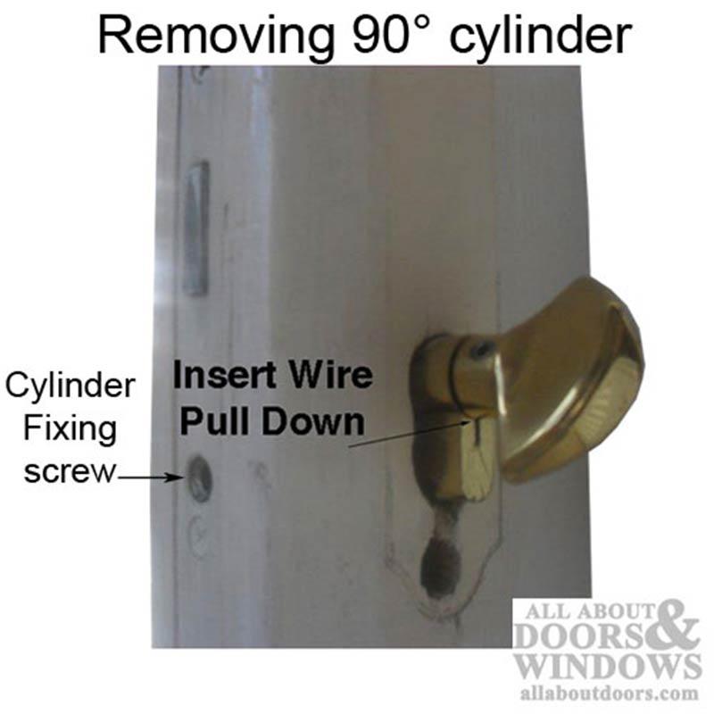 35 5 55 5 Hoppe Non Logo 90 Profile Cylinder Lock