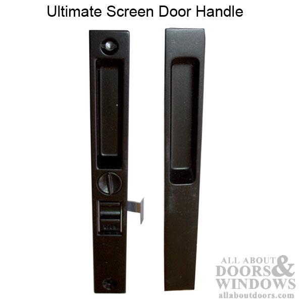 Marvin ultimate screen door handle interior exterior for Marvin sliding screen door