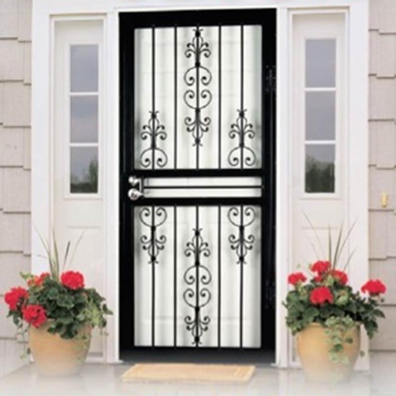 Security Door, Larson Garden View, Steel Frame