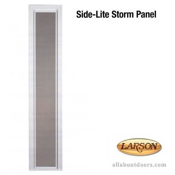 Larson Side-Lite Storm Panel
