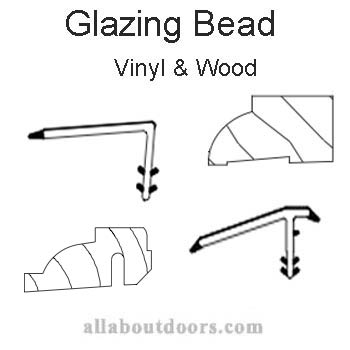 Marvin Wood & Vinyl Glazing Bead