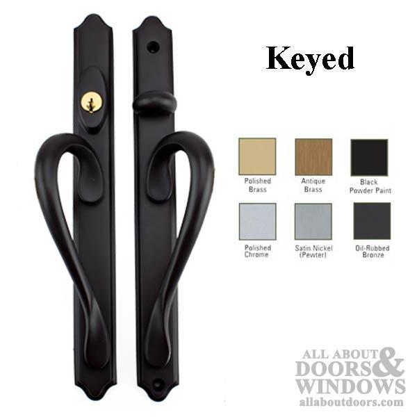 Inspirations narrow active keyed sliding door handle for Narrow sliding glass door