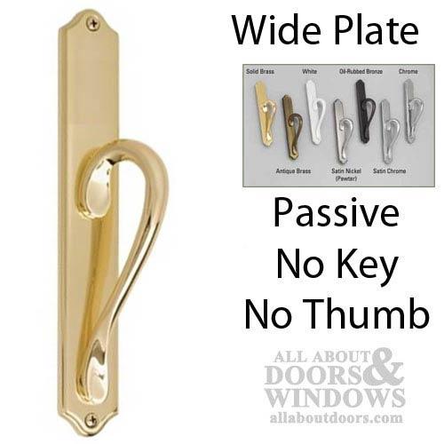 Inspirations Wide Passive Dummy Sliding Door Handle