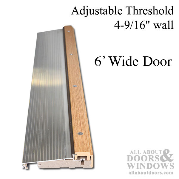 Adjustable Door Threshold Adjustable Threshold All