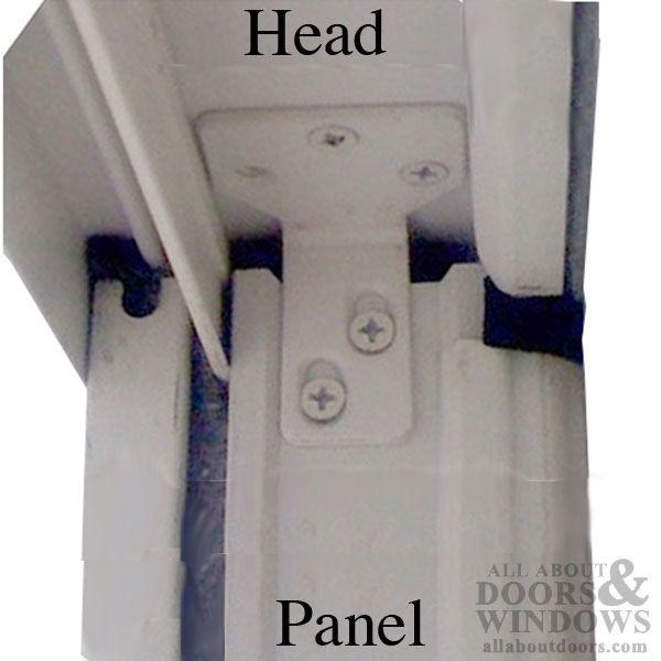 Stationary Panel Head Bracket Clip Stone For Andersen