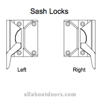 Weather Shield Casement Window Sash Locks