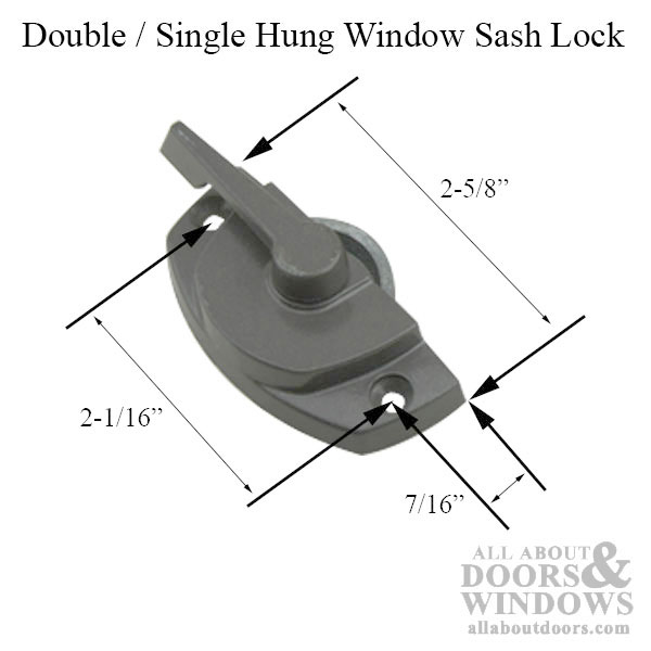 Marvin Double Hung Sash Lock Amp Keeper