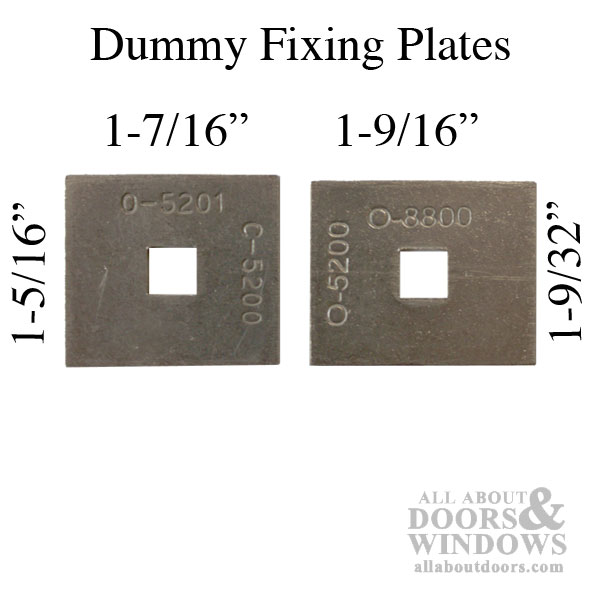 Fixing Plate Convert Passive To Dummy