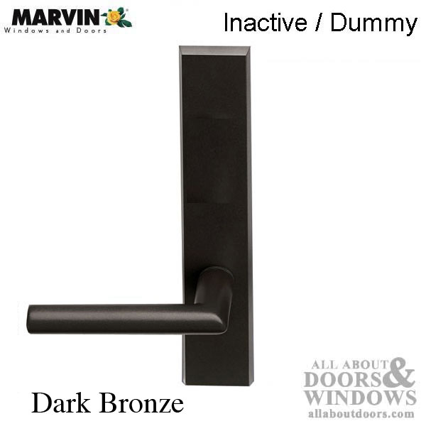 Marvin contemporary handle inactive dummy ultimate for Marvin ultimate swinging screen door