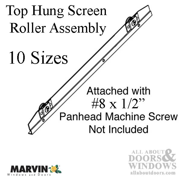 Marvin Top Hung Screen Roller Assembly 35 13 16 Quot
