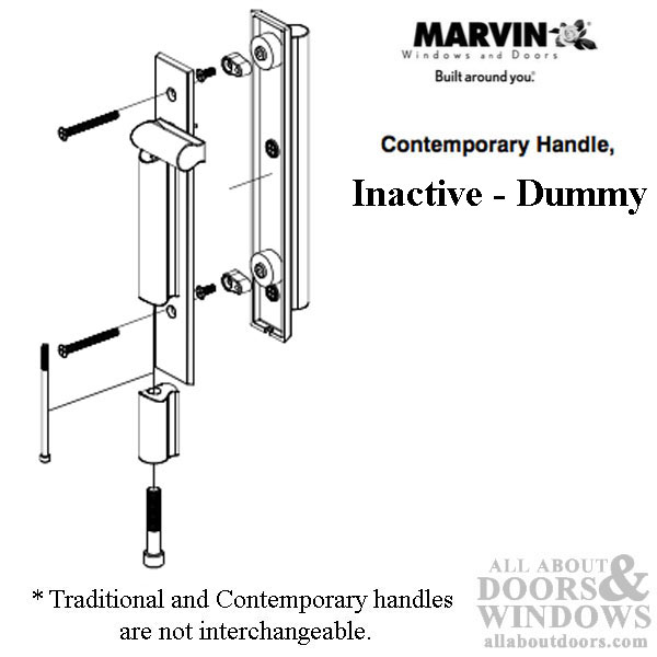 Marvin Contemporary Passive Handle Ultimate Sliding
