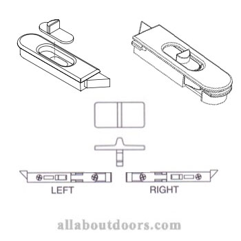 Weathershield Single / Double-Hung Tilt-Latches