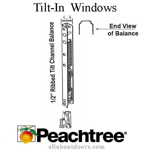 Peachtree Balance Tilt-In Windows
