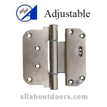 Adjustable Door Hinges Adjustable Hinges All About Doors